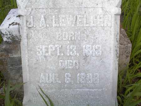 LEWELLEN, J. A. - Cross County, Arkansas | J. A. LEWELLEN - Arkansas Gravestone Photos