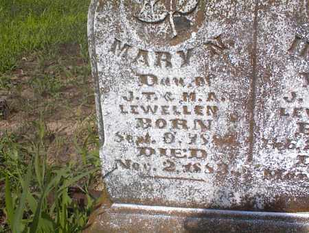 LEWELLEN, MARY N. - Cross County, Arkansas | MARY N. LEWELLEN - Arkansas Gravestone Photos