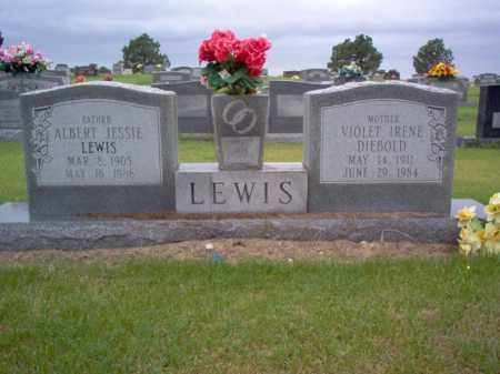 LEWIS, ALBERT JESSIE - Cross County, Arkansas | ALBERT JESSIE LEWIS - Arkansas Gravestone Photos