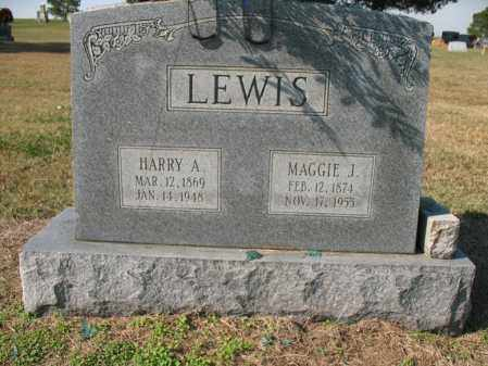 LEWIS, HARRY A - Cross County, Arkansas | HARRY A LEWIS - Arkansas Gravestone Photos