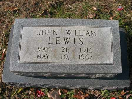 LEWIS, JOHN WILLIAM - Cross County, Arkansas | JOHN WILLIAM LEWIS - Arkansas Gravestone Photos