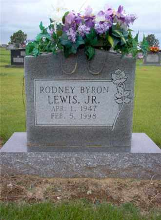 LEWIS, JR., RODNEY BYRON - Cross County, Arkansas | RODNEY BYRON LEWIS, JR. - Arkansas Gravestone Photos