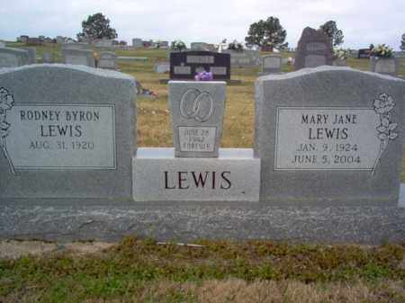 LEWIS, MARY JANE - Cross County, Arkansas | MARY JANE LEWIS - Arkansas Gravestone Photos
