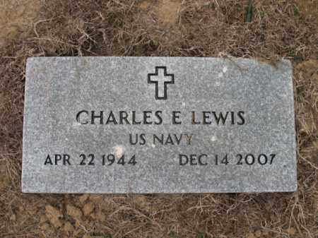 LEWIS (VETERAN), CHARLES E - Cross County, Arkansas | CHARLES E LEWIS (VETERAN) - Arkansas Gravestone Photos