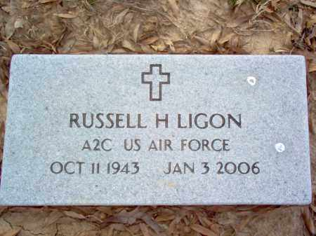 LIGON (VETERAN), RUSSELL H - Cross County, Arkansas | RUSSELL H LIGON (VETERAN) - Arkansas Gravestone Photos