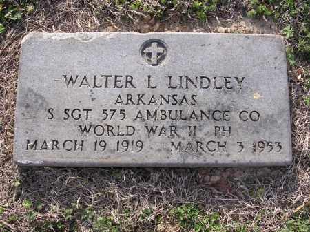 LINDLEY  (VETERAN WWII), WALTER L - Cross County, Arkansas | WALTER L LINDLEY  (VETERAN WWII) - Arkansas Gravestone Photos