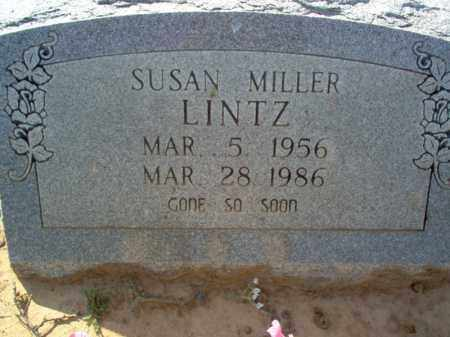 MILLER LINTZ, SUSAN - Cross County, Arkansas | SUSAN MILLER LINTZ - Arkansas Gravestone Photos