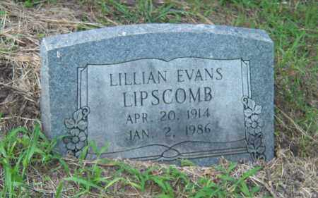 EVANS LIPSCOMB, LILLIAN - Cross County, Arkansas | LILLIAN EVANS LIPSCOMB - Arkansas Gravestone Photos
