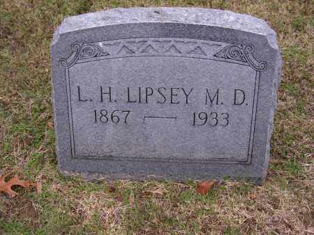LIPSEY, MD, L H - Cross County, Arkansas | L H LIPSEY, MD - Arkansas Gravestone Photos