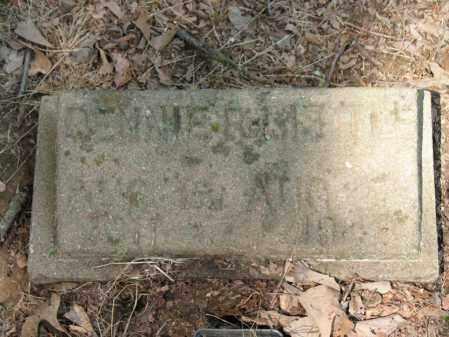 LITTLE, RENNIE R - Cross County, Arkansas   RENNIE R LITTLE - Arkansas Gravestone Photos