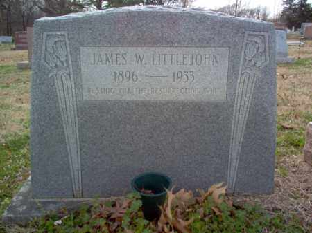 LITTLEJOHN, JAMES WILLIAM - Cross County, Arkansas | JAMES WILLIAM LITTLEJOHN - Arkansas Gravestone Photos