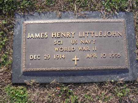 LITTLEJOHN  (VETERAN WWII), JAMES HENRY - Cross County, Arkansas | JAMES HENRY LITTLEJOHN  (VETERAN WWII) - Arkansas Gravestone Photos