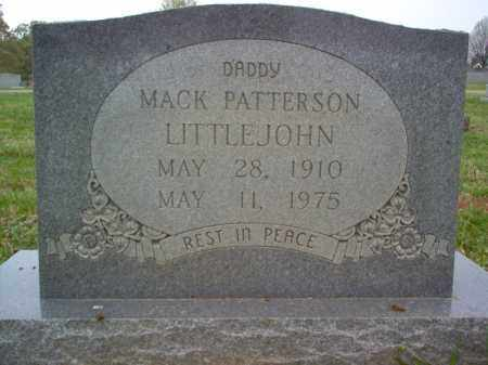 LITTLEJOHN, MACK PATTERSON - Cross County, Arkansas | MACK PATTERSON LITTLEJOHN - Arkansas Gravestone Photos