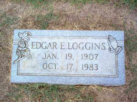 LOGGINS, EDGAR E - Cross County, Arkansas | EDGAR E LOGGINS - Arkansas Gravestone Photos