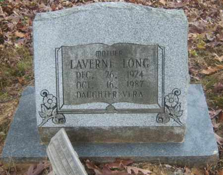 LONG, LAVERNE - Cross County, Arkansas | LAVERNE LONG - Arkansas Gravestone Photos