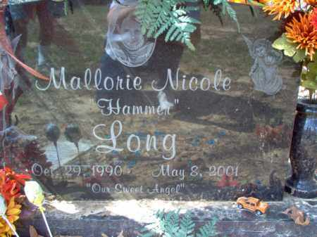 "LONG, MALLORIE NICOLE ""HAMMER"" - Cross County, Arkansas 