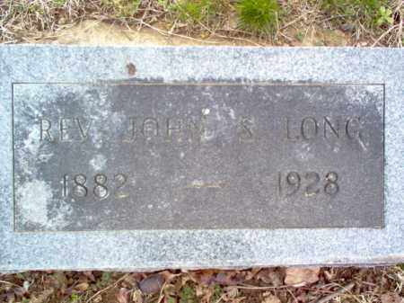 LONG, REV, JOHN S - Cross County, Arkansas | JOHN S LONG, REV - Arkansas Gravestone Photos