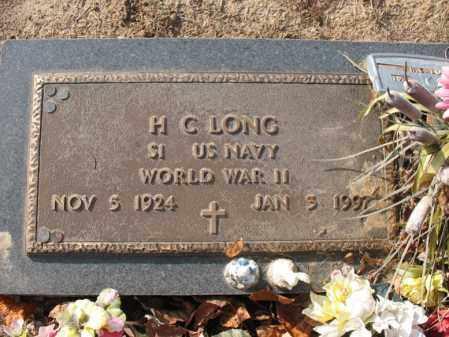 LONG (VETERAN WWII), HARRY CALVIN - Cross County, Arkansas | HARRY CALVIN LONG (VETERAN WWII) - Arkansas Gravestone Photos