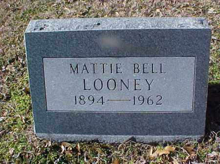 BELL LOONEY, MATTIE - Cross County, Arkansas | MATTIE BELL LOONEY - Arkansas Gravestone Photos