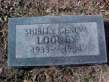LOONEY, SHIRLEY GENEVA - Cross County, Arkansas | SHIRLEY GENEVA LOONEY - Arkansas Gravestone Photos