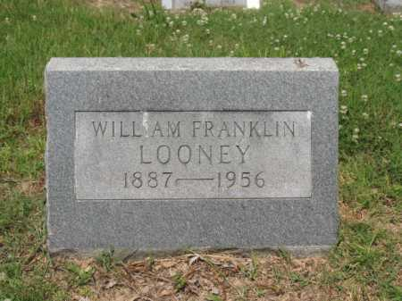 LOONEY, WILLIAM FRANKLIN - Cross County, Arkansas | WILLIAM FRANKLIN LOONEY - Arkansas Gravestone Photos
