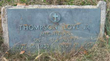 LOVE, JR (VETERAN), THOMPSON - Cross County, Arkansas | THOMPSON LOVE, JR (VETERAN) - Arkansas Gravestone Photos
