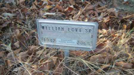 LOVE, SR, WILLIAM - Cross County, Arkansas | WILLIAM LOVE, SR - Arkansas Gravestone Photos
