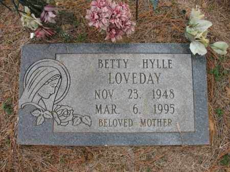 LOVEDAY, BETTY - Cross County, Arkansas | BETTY LOVEDAY - Arkansas Gravestone Photos