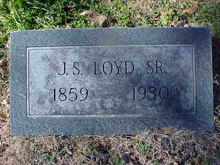 LOYD, SR, J S - Cross County, Arkansas | J S LOYD, SR - Arkansas Gravestone Photos