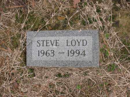 LOYD, STEVE - Cross County, Arkansas | STEVE LOYD - Arkansas Gravestone Photos