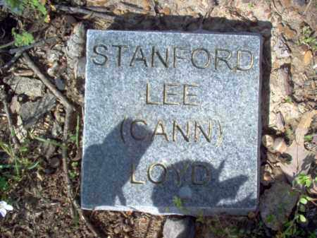 "LOYD, STANFORD LEE ""CANN"" - Cross County, Arkansas 