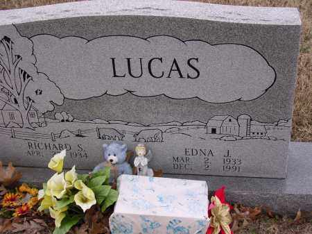 LUCAS, EDNA J - Cross County, Arkansas | EDNA J LUCAS - Arkansas Gravestone Photos