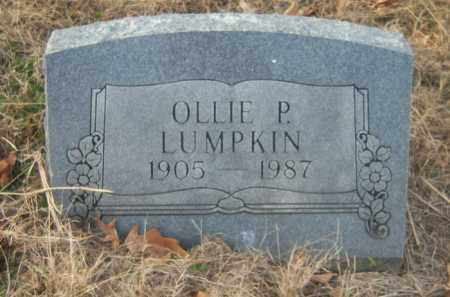 LUMPKIN, OLLIE P - Cross County, Arkansas | OLLIE P LUMPKIN - Arkansas Gravestone Photos