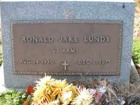 LUNDY (VETERAN), RONALD JAKE - Cross County, Arkansas | RONALD JAKE LUNDY (VETERAN) - Arkansas Gravestone Photos