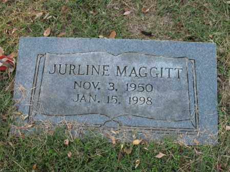 MAGGITT, JURLINE - Cross County, Arkansas | JURLINE MAGGITT - Arkansas Gravestone Photos