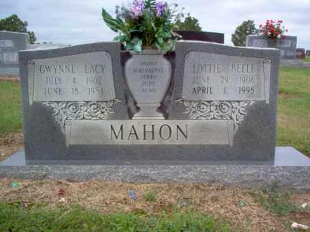 MAHON, GWYNNE LACY - Cross County, Arkansas | GWYNNE LACY MAHON - Arkansas Gravestone Photos