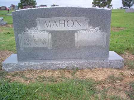MAHON, J L - Cross County, Arkansas | J L MAHON - Arkansas Gravestone Photos