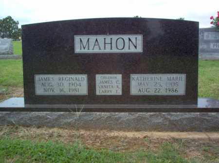 MAHON, JAMES REGINALD - Cross County, Arkansas | JAMES REGINALD MAHON - Arkansas Gravestone Photos