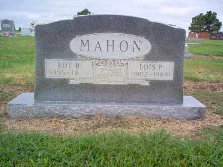MAHON, LOIS P - Cross County, Arkansas | LOIS P MAHON - Arkansas Gravestone Photos