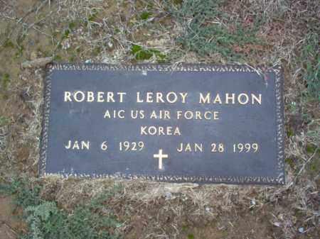 MAHON (VETERAN KOR), ROBERT LEROY - Cross County, Arkansas | ROBERT LEROY MAHON (VETERAN KOR) - Arkansas Gravestone Photos