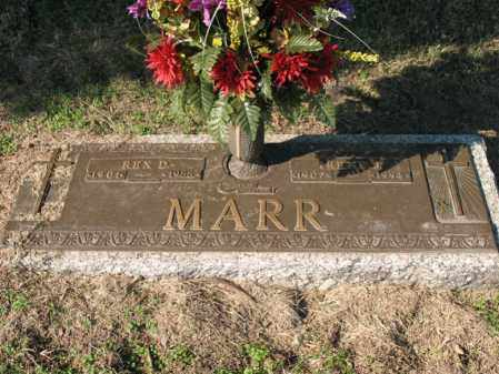 MARR, REX D - Cross County, Arkansas | REX D MARR - Arkansas Gravestone Photos