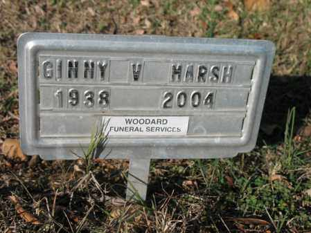 MARSH, GINNY V - Cross County, Arkansas | GINNY V MARSH - Arkansas Gravestone Photos