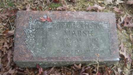 MARSH, JIMMIE NELSON - Cross County, Arkansas | JIMMIE NELSON MARSH - Arkansas Gravestone Photos