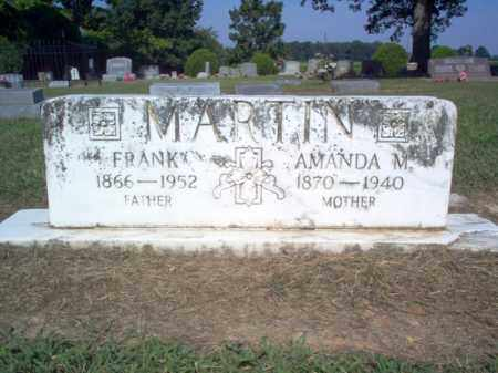 MARTIN, AMANDA M - Cross County, Arkansas | AMANDA M MARTIN - Arkansas Gravestone Photos