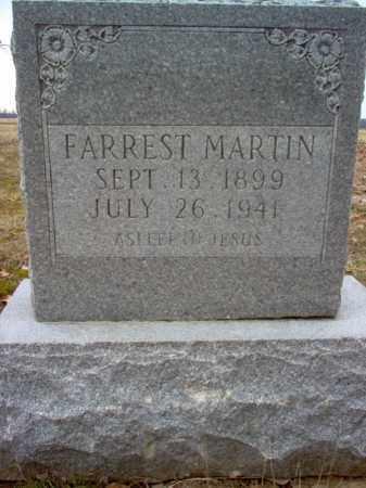 MARTIN, FARREST - Cross County, Arkansas | FARREST MARTIN - Arkansas Gravestone Photos