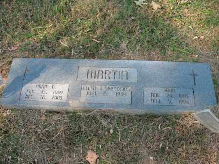 MARTIN, ANNIE B - Cross County, Arkansas | ANNIE B MARTIN - Arkansas Gravestone Photos