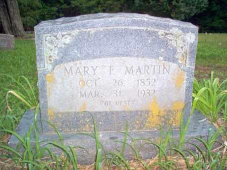 MARTIN, MARY F - Cross County, Arkansas | MARY F MARTIN - Arkansas Gravestone Photos