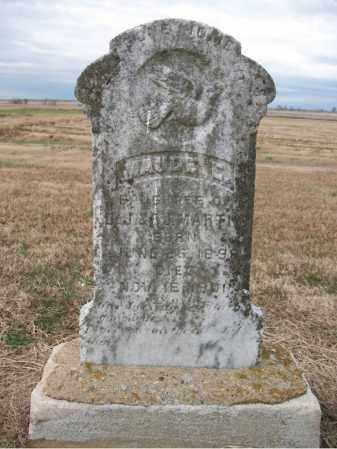 MARTIN, MAUDE E - Cross County, Arkansas   MAUDE E MARTIN - Arkansas Gravestone Photos