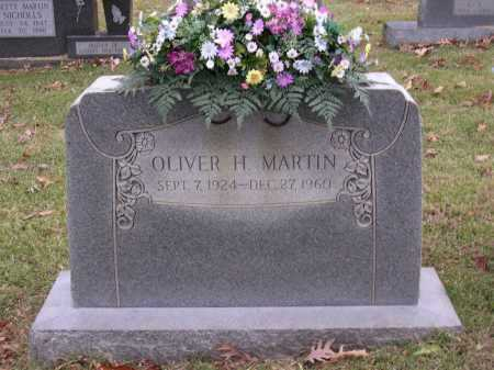 MARTIN, OLIVER HOLMES - Cross County, Arkansas | OLIVER HOLMES MARTIN - Arkansas Gravestone Photos