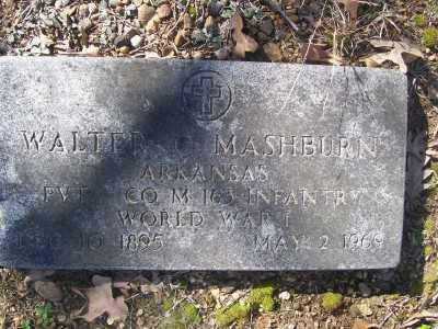MASHBURN (VETERAN WWI), WALTER C - Cross County, Arkansas | WALTER C MASHBURN (VETERAN WWI) - Arkansas Gravestone Photos